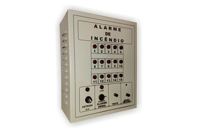 Central de Alarmes para Rede de Incêndio